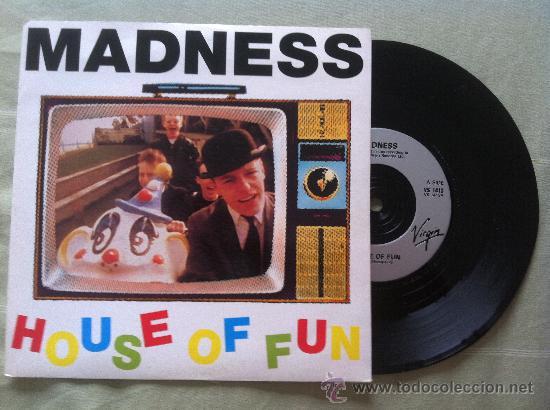 """7"""" MADNESS-HOUSE OF FUN (Música - Discos - Singles Vinilo - Pop - Rock Internacional de los 90 a la actualidad)"""