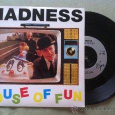 """Discos de vinilo: 7"""" MADNESS-HOUSE OF FUN. Lote 33871643"""