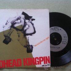 """Discos de vinilo: 7"""" REDHEAD KINGPIN-WE ROCK THE MIC RIGHT. Lote 33885942"""
