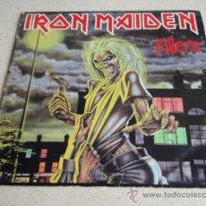 Discos de vinilo: IRON MAIDEN ( KILLERS ) USA - 1981 LP33 EMI RECORDS. Lote 166064274