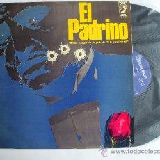 Discos de vinilo: EL PADRINO - VERSIÓN ÍNTEGRA DE LA PELÍCULA THE GODFATHER - EDICIÓN ESPAÑOLA 1972 - LP. Lote 33894204