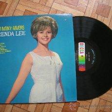 Discos de vinilo: BRENDA LEE - TOO MANY RIVERS - LP USA 1965 - CARPETA EX VINILO EX-. Lote 33897384