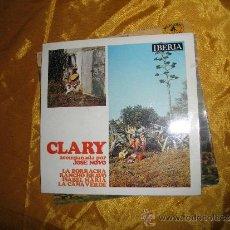 Discos de vinilo: CLARY ACOMPAÑADA POR JOSE NOVO. EP. LA BORRACHERA + 3. IBERIA 1971. Lote 33902661
