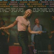 Discos de vinilo: LP JOHNNY HALLYDAY, CLAUDE FRANÇOIS, SHEILA, FRANCE GALL, LONG CHRIS, TRUMPET BOY, LES GAM´S , . Lote 33904159