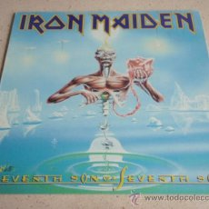 Discos de vinilo: IRON MAIDEN ( SEVENTH SON OF A SEVENTH SON ) USA - 1988 LP33 CAPITOL RECORDS. Lote 166576305