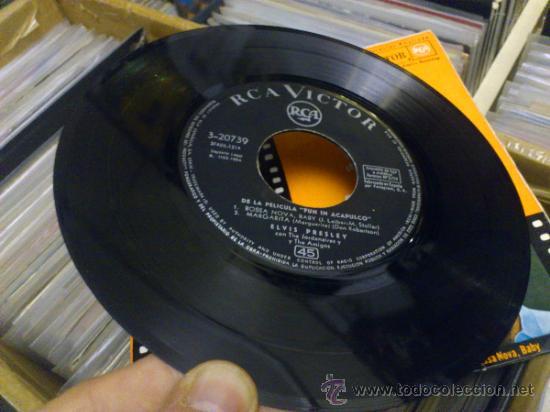 Discos de vinilo: Elvis presley Fun in Acapulco disco de vinilo de 7 pulgadas - Foto 7 - 33899822