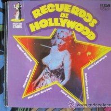 Discos de vinilo: RECUERDOS DE HOLLYWOOD - MUSICAL STARS. Lote 33913296