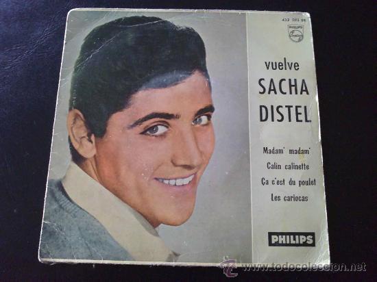 SACHA DISTEL, MADAM MADAM (Música - Discos de Vinilo - EPs - Canción Francesa e Italiana)