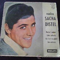 Discos de vinilo: SACHA DISTEL, MADAM MADAM. Lote 33917533