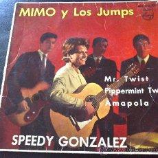 Discos de vinilo: MIMO Y LOS JUMPS, SPEEDY GONZÁLEZ - EP SOLO PORTADA. Lote 133968503
