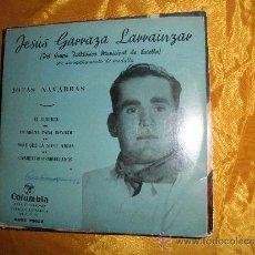 Discos de vinilo: JESUS GARRAZA LARRAINZAR. JOTAS NAVARRAS. EP. COLUMBIA. Lote 61346393