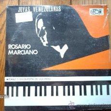 Discos de vinilo: ROSARIO MARCIANO (JOYAS VENEZOLANAS) - MAÑANITA CARAQUEÑA- LA BARTOLADA- EL VENEZOLANO- EL PORTEÑO .. Lote 33990891