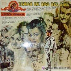 Discos de vinilo: TEMAS DE ORO DEL CINE. Lote 33946188
