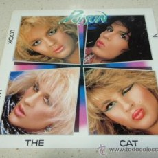 Discos de vinilo: POISON – LOOK WHAT THE CAT DRAGGED IN 1986 HOLANDA ENIGMA. Lote 33947376