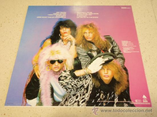 Discos de vinilo: Poison – Look What The Cat Dragged In 1986 HOLANDA ENIGMA - Foto 2 - 33947376