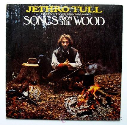 JETHRO TULL ··· SONGS FROM THE WOOD - (LP) (Música - Discos - LP Vinilo - Pop - Rock - Extranjero de los 70)