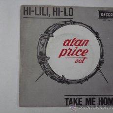 Discos de vinilo: ALAN PRICE SET HI-LILI, HI-LO + 1 SINGLE DECCA SPAIN 1966. Lote 33954111