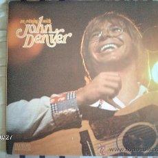 Discos de vinilo: JOHN DENVER - AN EVENING WITH JOHN DENVER . Lote 33958962