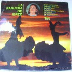 Discos de vinilo: VINILO LA PAQUITA DE JEREZ 33 RPM. Lote 33961932
