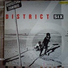 Discos de vinilo: DISTRICT SIX - TO BE FREE. Lote 33972230