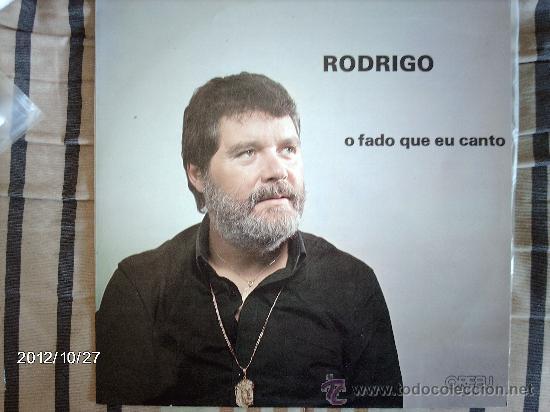 RODRIGO - O FADO QUE EU CANTO (Música - Discos - LP Vinilo - Cantautores Extranjeros)