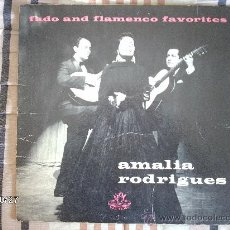 Discos de vinilo: AMALIA RODRIGUES - FADO AND FLAMENCO FAVORITES. Lote 33974455