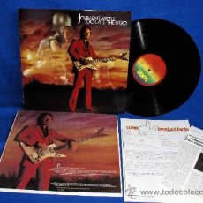 Discos de vinilo: JOHN ENTWISTLE (THE WHO) - TOO LATE THE HERO -LP 1981- - CON INNER SLEEVE + HOJAS MERCHANDISING. Lote 33992467