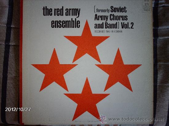 THE RED ARMY ENSEMBLE VOL 2 (Música - Discos - LP Vinilo - Orquestas)