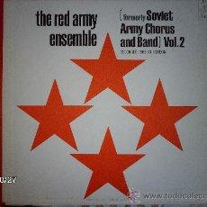 Discos de vinilo: THE RED ARMY ENSEMBLE VOL 2 . Lote 33999073