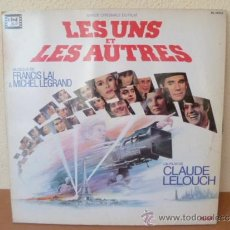 Discos de vinilo: FRANCIS LAI & MICHEL LEGRAND - BSO LES UNS ET LES AUTRES - DOBLE LP - ED. FRENCH 1987. Lote 33960773