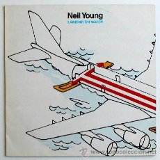 Discos de vinilo: NEIL YOUNG ··· LANDING ON WATER - (LP). Lote 33960942