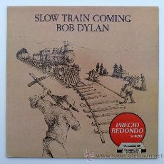 Discos de vinilo: BOB DYLAN ··· SLOW TRAIN COMING - (LP). Lote 33960992