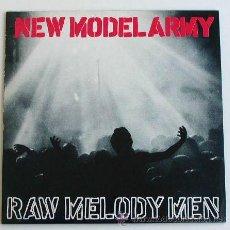 Discos de vinilo: NEW MODEL ARMY - RAW MELODY MEN (LP DOBLE). Lote 33961409