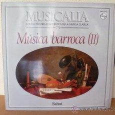 Dischi in vinile: MUSICALIA: Nº 75 - MÚSICA BARROCA (II).. Lote 33964426