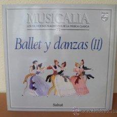 Discos de vinilo: MUSICALIA: Nº 71 - BALLET Y DANZAS (II).. Lote 33964467
