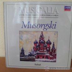 Discos de vinilo: MUSICALIA: Nº 68 - MUSORGSKI. Lote 33964503