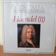 Dischi in vinile: MUSICALIA: Nº 64 - HAENDEL (II).. Lote 33964547