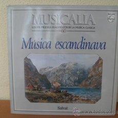 Dischi in vinile: MUSICALIA: Nº 60 MÚSICA ESCANDINAVA. Lote 33964582