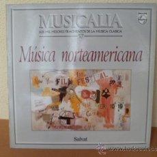 Dischi in vinile: MUSICALIA: Nº 57 - MÚSICA NORTEAMERICANA. Lote 33964680