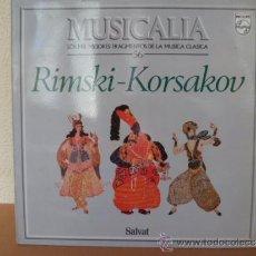 Discos de vinilo: MUSICALIA: Nº 56 - RIMSKI KORSAKOV. Lote 33964795