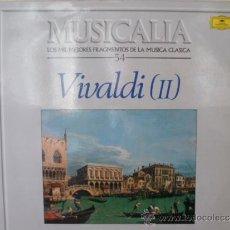 Dischi in vinile: MUSICALIA: Nº 54 - VIVALDI (II).. Lote 33964824