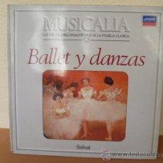 Discos de vinilo: MUSICALIA: Nº 52 - BALLET Y DANZAS. Lote 33964857