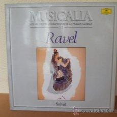 Disques de vinyle: MUSICALIA: Nº 51 - RAVEL. Lote 33964868