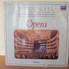 Discos de vinilo: MUSICALIA: Nº 50 - ÓPERA. Lote 33964876
