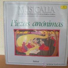 Discos de vinilo: MUSICALIA: Nº 48 - PIEZAS ANÓNIMAS. Lote 33964995