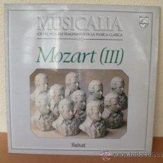Discos de vinilo: MUSICALIA: Nº 46 MOZART (III).. Lote 33965011