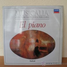 Discos de vinilo: MUSICALIA: Nº 45 EL PIANO. Lote 33965022