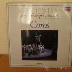 Discos de vinilo: MUSICALIA: Nº 44 - COROS. Lote 33965027