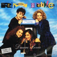 Discos de vinilo: THE REBEL PEBBLES - DREAM LOVER / PARTY TIME - SINGLE 1991. Lote 33965041