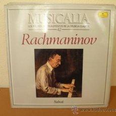 Dischi in vinile: MUSICALIA: Nº 42 - RACHMANINOV. Lote 33965145